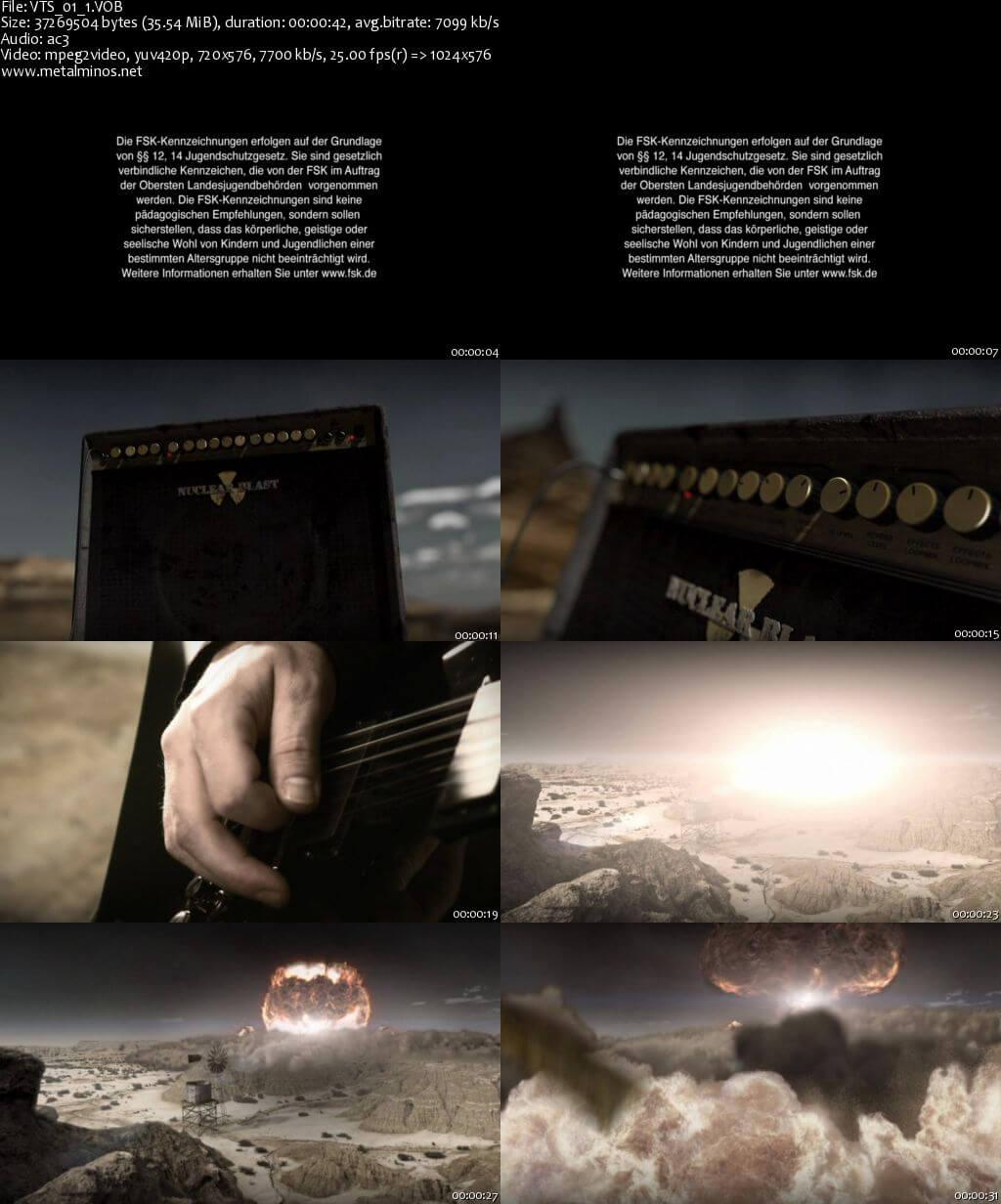 hammerfall glory to the brave bonus dvd9