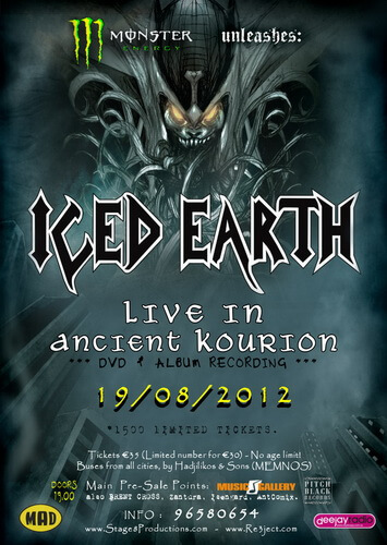 Iced Earth Live in Ancient Kourion BDRIP 720P Google Drive Mega
