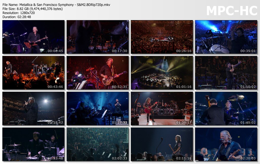 Metallica - S&M 2 BDRIP 720p Google Drive Mega